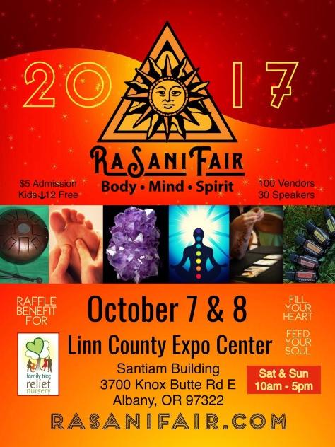 RaSani Fair Poster 2017